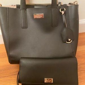 Black Kate Spade Crossbody & Wallet